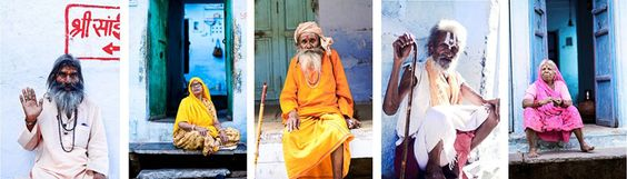 Abbi Kemp - The bright colours and local faces of India