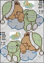 Resultado de imagem para graficos de ursinhos para bordar