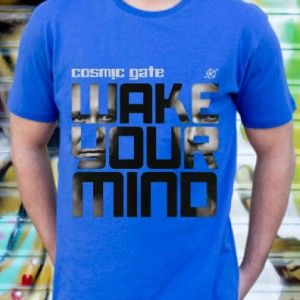 Cosmic Gate Wake Your Mind DJ T-Shirt