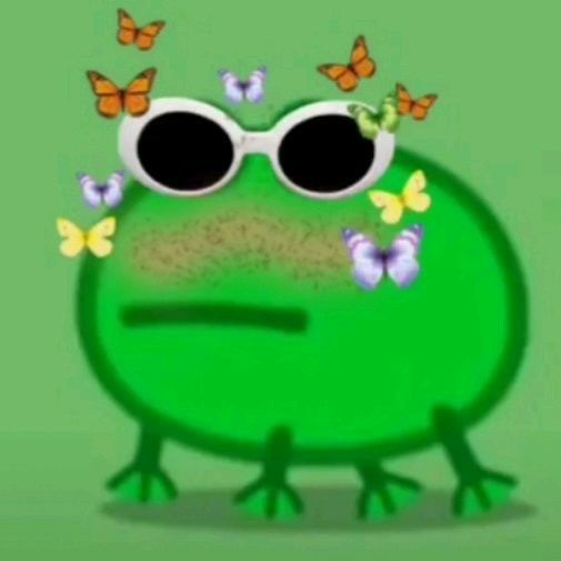 Icon Frog Tik Tok Frog Meme Cute Frogs Frog Pictures