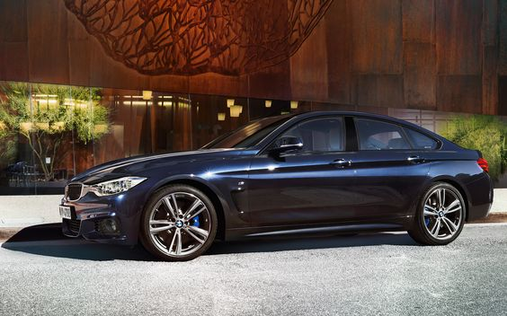 BMWSérie4 Gran Coupé: Images et vidéos