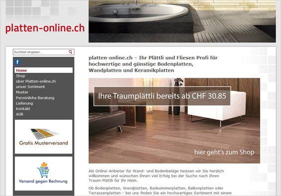 Onlineshop mit passender Webseite