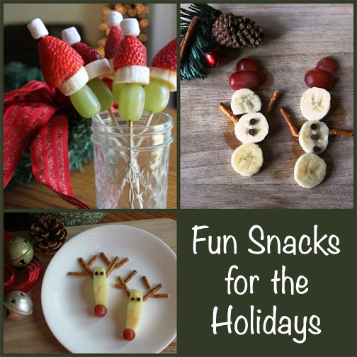 Fun Snacks For The Holiday Season Christmas Snacks