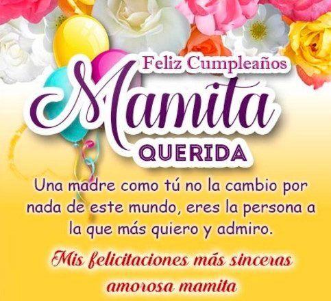 Feliz Cumple Mama Cumpleaños Club Mensaje De Feliz Cumpleaños Frases De Feliz Cumpleaños Feliz Cumpleaños Mamá