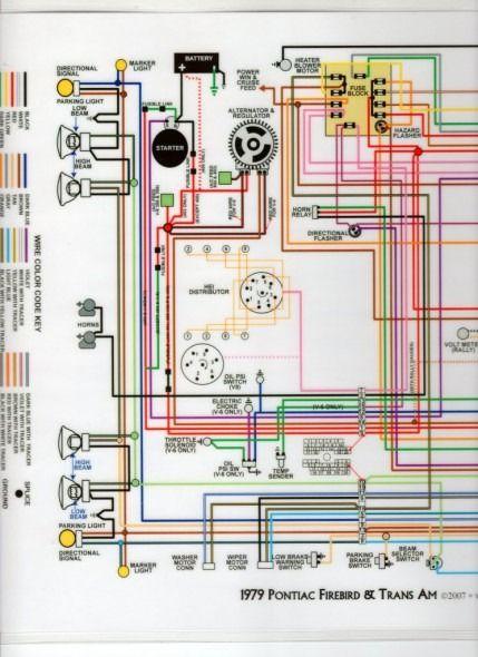 79 trans am wiring diagram   trans am, 1979 trans am, 1979 pontiac trans am  pinterest