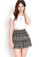 Favorite Folk Print Skirt