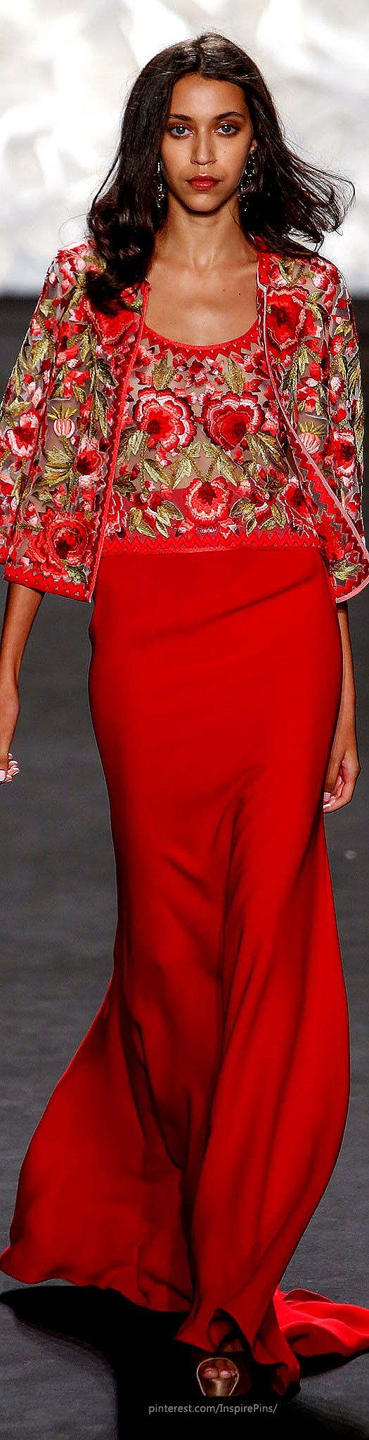 Naeem Khan Spring 2015 Ready-to-Wear: