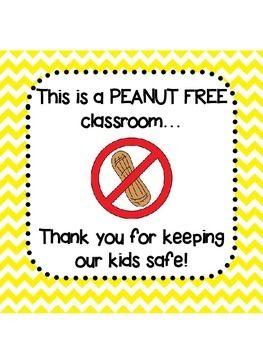 Peanut Free Room