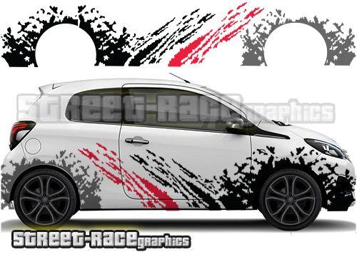 Peugeot 108 Car Rally Racing Graphics Adhesivos Para Coches Tuning Coche Coches Y Motocicletas