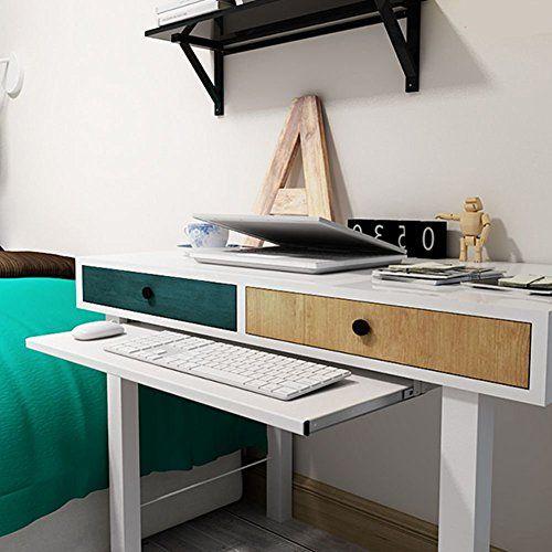 Under Desk Comfort Keyboard Drawer Platforms Furniture Of Https Www Amazon Com Dp B07d6gx6wz Ref Cm Sw R Pi Dp U X Stwvb Computer Table Desk Drawer Slides