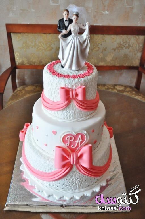 أجمل كعكات الزفاف المزينة بالورود تورتات زفاف فخمة بالصور كيكات افراح روعة تورتات شيك للعرائس2019 Cake Desserts Diaper Cake