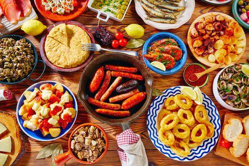 Wonderbaar Top 10 Spaanse tapas gerechten   Spaanse tapas, Tapas recepten JB-58