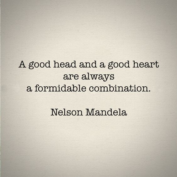 Good Head Quotes For Instagram: A Good Head And A Good Heart Are Always A Formidable