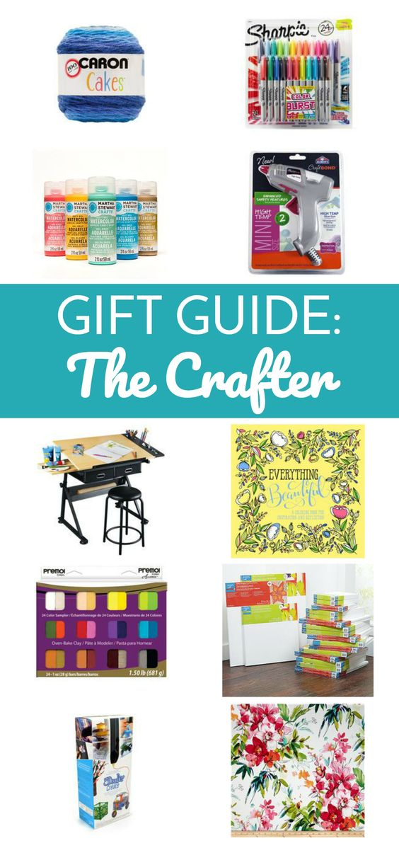 If you're looking for a great gift for the crafty, artsy, DIY loving person in your life, you've found the right place! Gift Guide for the Crafter