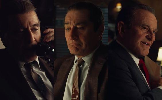 New The Irishman Trailer Makes Scorsese S Netflix Movie An Event Irish Men Martin Scorsese Movies