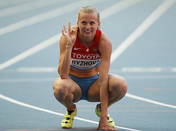 Kseniya Ryzhova - Russian Relay.