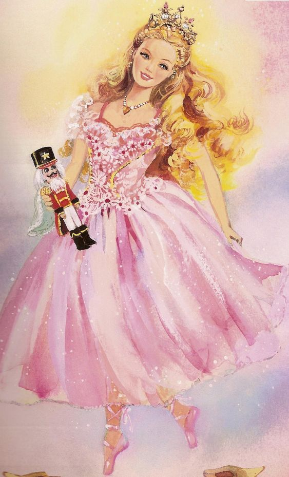Clara the Sugar Plum Princess and the Nutcracker-I remember having the Clara Barbie doll when I was younger!