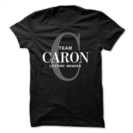 TEAM CARON LIFETIME MEMBER - #awesome tee #hoodies womens. CHECK PRICE => https://www.sunfrog.com/Names/TEAM-CARON-LIFETIME-MEMBER-54944459-Guys.html?68278