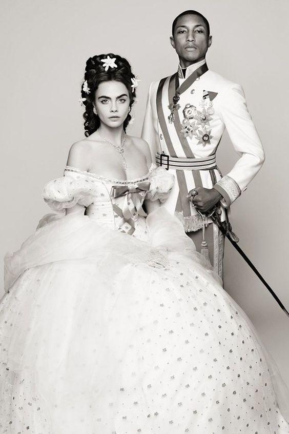 Karl Lagerfeld Unveils Chanel Film
