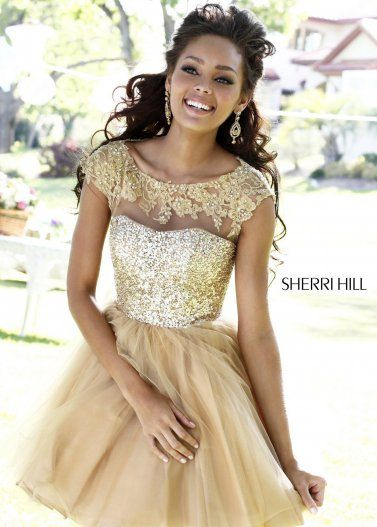 gold short prom dresses - Dress Yp