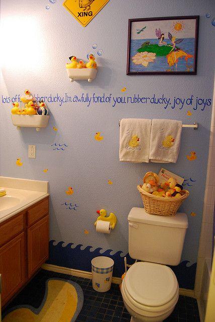 Rubber ducky bathroom flickr photo sharing bathroom for Duck bathroom accessories