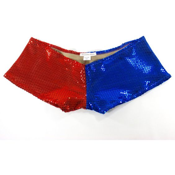 Harley Quinn Suicide Squad Inspired Shorts Red/Blue Sequin Shorts ...