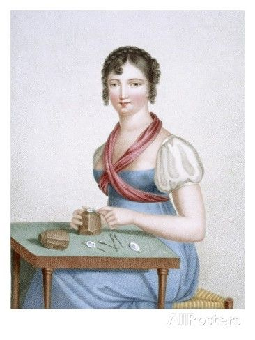 The Printmaker, Engraved by Augrand, C.1816 (Coloured Engraving) Giclee Print by Madame G. Busset-Dubruste: