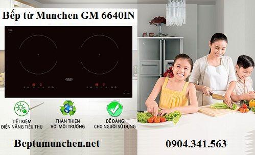 Có nên mua bếp từ Munchen GM 6640IN không