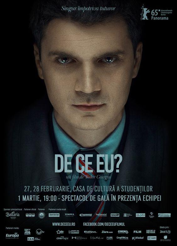 """""""De ce eu?"""", filmul inspirat de cazul Panait – proiecție de gală la Iași.Echipa filmului vine în oraș pe 1 martie"""