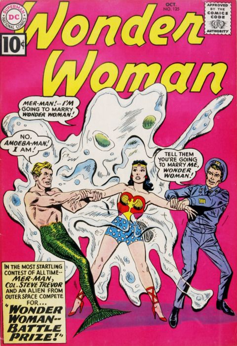 Vintage Wonder Woman comic