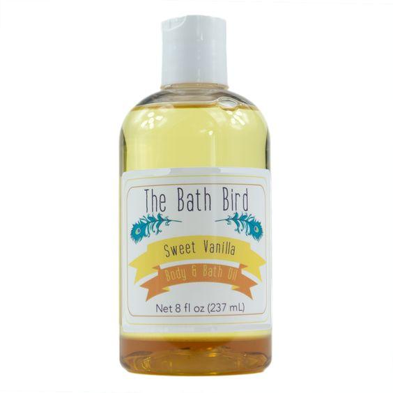 Sweet Vanilla Body & Bath Oil