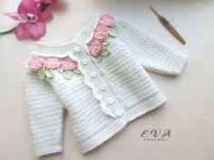 Patron para hacer un conjunto tejido a crochet para niña05