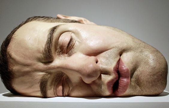 Ron Mueck (hyper realists sculptures)