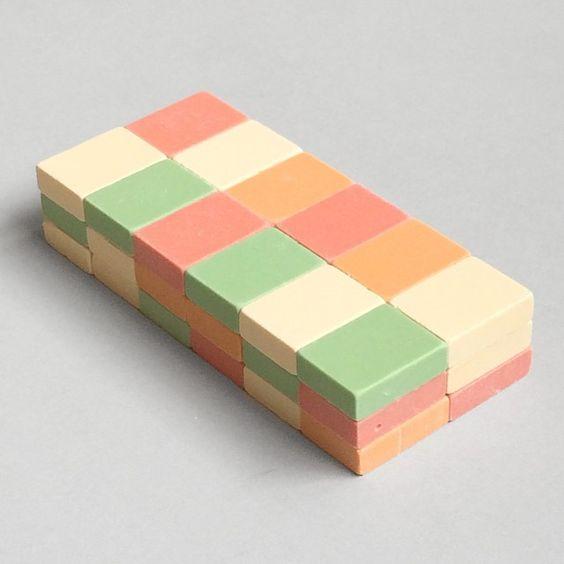Erasers.