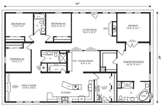 Best 25 Modular home floor plans ideas on Pinterest Modular