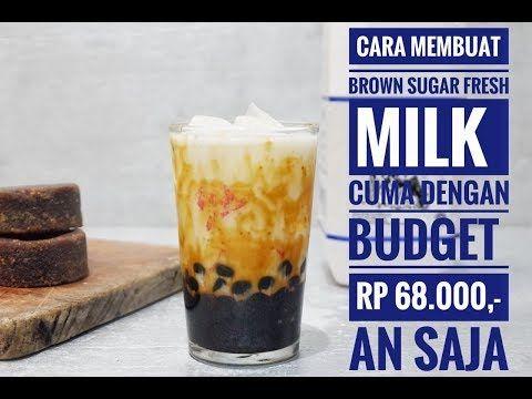 Brown Sugar Boba Recipe Youtube Ide Makanan Resep Kopi Resep Minuman