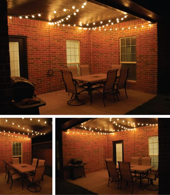 String lighting for screened porch (5)