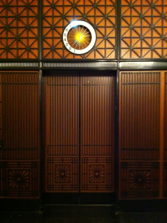 Hidden Elevator - Santa Fe Building Chicago