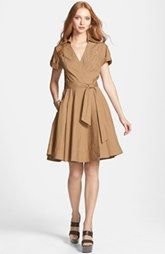 See Price For Diane von Furstenberg 'Kaley' Pleated Cotton Blend Wrap Dress Here : http://www.thailandpriceza.com/go.php?url=http://shop.nordstrom.com/S/diane-von-furstenberg-kaley-pleated-cotton-blend-wrap-dress/3660380?origin=category&BaseUrl=All+Women%27s+Clothing