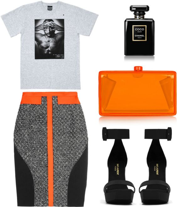 I definitely want to try pairing a tshirt with a skirt. I've seen the look in a few fashion blogs and I really like it.