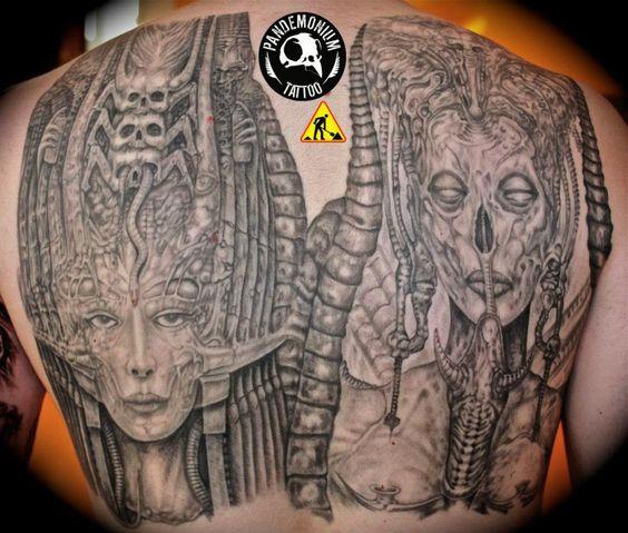 105 hr giger museum hr giger 1 pinterest hr giger for Tattoo nightmares shop location