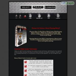 Learn The Fundamentals Of Heavy Metal Guitar From Beginner To Advanced. This Is An Untapped Niche! Theres No Other Metal Guitar Affiliate Programs On CB Either So Join Us! - Earn 75% For Each Sale - Check Out The Salespage! See more! : http://get-now.natantoday.com/lp.php?target=metalmad