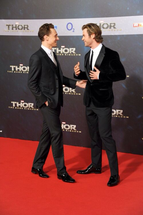 Tom Hiddleston. #ThorDarkWorld premiere. Berlin, October 2013. Via torrilla.tumblr.com