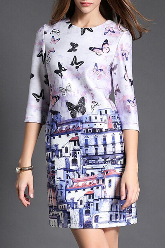 Hannou - Lorelai Dress in Multicolor