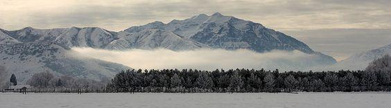 Winter Mountain Mist in Heber Valley, UT | Flickr - Photo Sharing!