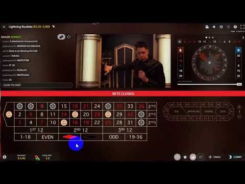 Lightning Roulette 100x big win | Roulette strategy, Roulette ...