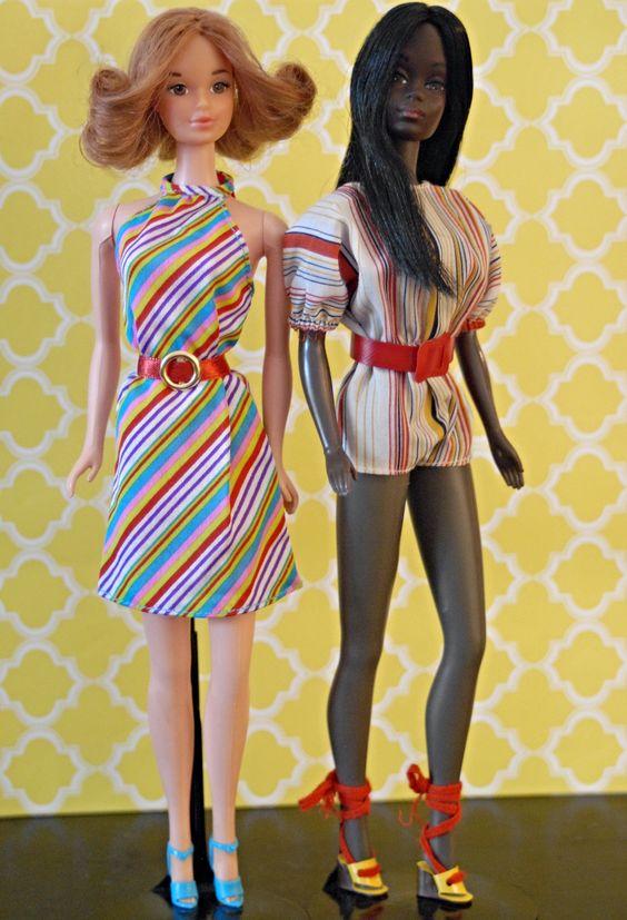Quick Curl Barbie and Sensational Malibu Christie   by RomitaGirl67