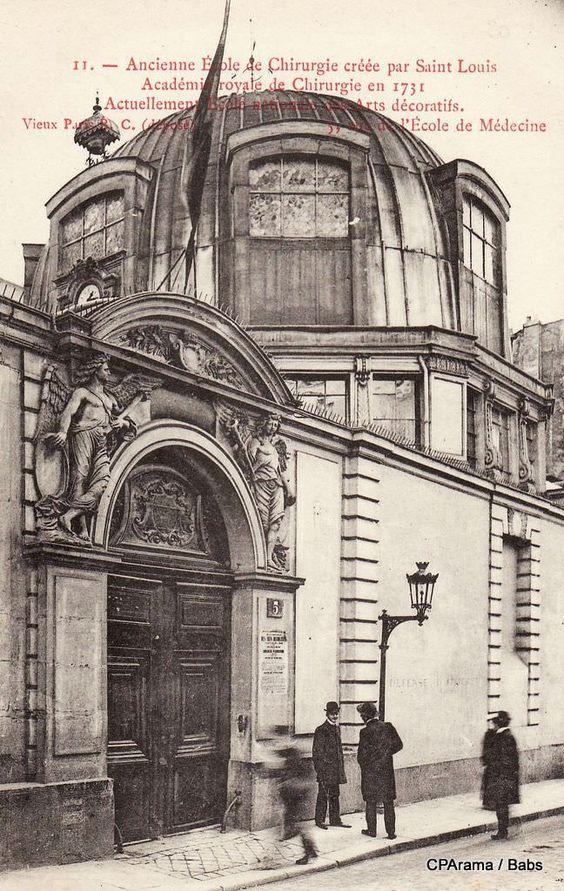 Amphithéâtre de la première académie de médecine. Construit en 1617.