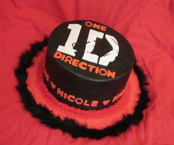 One Direction cake | Flickr - Photo Sharing!