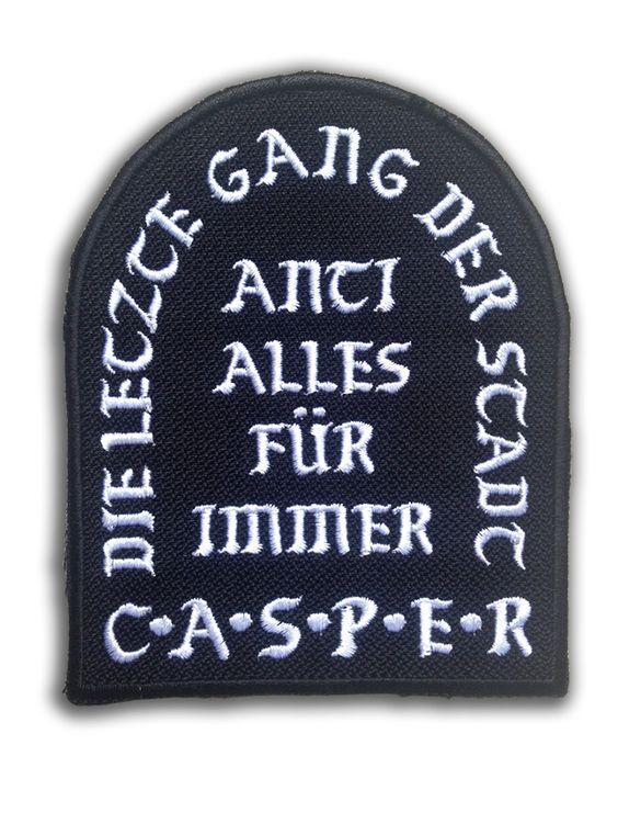 Casper - Gang Patch - Anti Alles Für Immer - CASPER